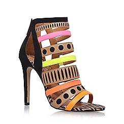 Miss KG - Brown 'Freida' high heel sandals