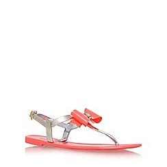 Miss KG - Pink 'Rafi' flat sandal