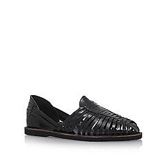 KG Kurt Geiger - Black 'Farnley' Flat Sandals