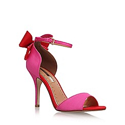 Miss KG - Pink 'Gianna' High Heel Sandals