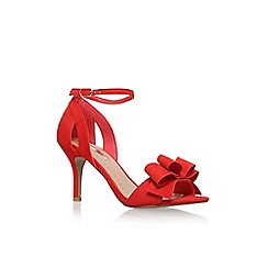 Miss KG - Red 'Caiden' high heel sandal