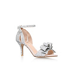 Miss KG - Silver 'Caiden' high heel sandals