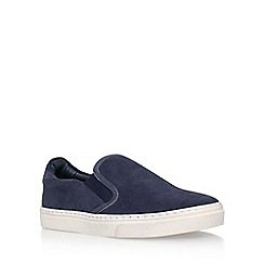 KG Kurt Geiger - Blue 'Fixby' slip on sneakers