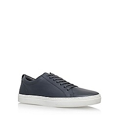 KG Kurt Geiger - Grey 'Finstock' flat lace up sneaker