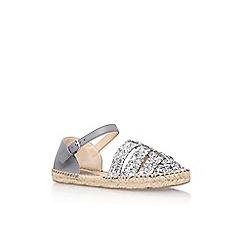 Nine West - Silver 'Intome 3' flat sandal