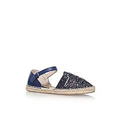 Nine West - Blue 'Intome 3' flat sandal