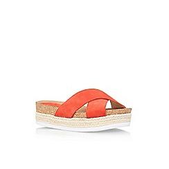 Nine West - Red 'Amyas' slip on sandal