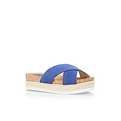 Nine West - Blue 'Amyas' slip on sandal