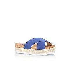 Nine West - Blue 'Amyas' slip on sandal