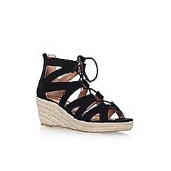 Miss KG - Black 'Phoebe' wedge sandal
