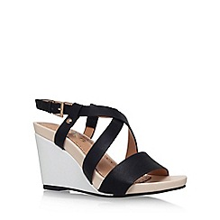 Miss KG - Black 'Pascal' wedge sandal