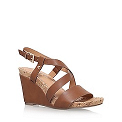 Miss KG - Brown 'Pascal' wedge sandal