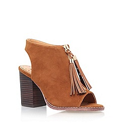 Miss KG - Brown 'Saana' high heel shoe boot