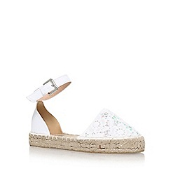Miss KG - Natural 'Darlene' flat sandals