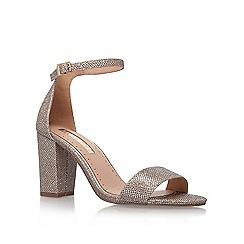 Miss KG - Gold 'Pearl' high heel sandal
