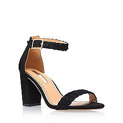Miss KG - Black 'Cain' high heel sandals