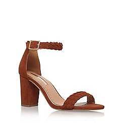 Miss KG - Brown 'Cain' high heel sandal