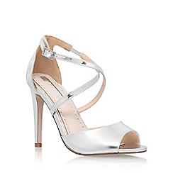 Miss KG - Silver 'Ellis' high heel sandal