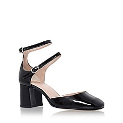 KG Kurt Geiger - Black 'Dolly' high heeled sandal