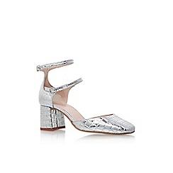 KG Kurt Geiger - Silver 'Dolly' high heel sandal