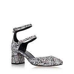 KG Kurt Geiger - Silver 'Dolly' High Heel Sandals