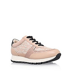 KG Kurt Geiger - Natural 'Lacey' lace up sneaker