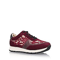 KG Kurt Geiger - Multicoloured 'Lacey' lace up sneaker