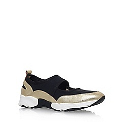 KG Kurt Geiger - Gold 'Lemon' flat sneakers