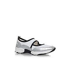 KG Kurt Geiger - Silver lemon flat slip on sneakers