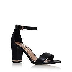 Miss KG - Black 'Cade' high heel sandal