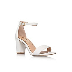 Miss KG - White 'Cade' high heel sandals