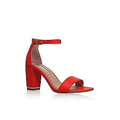 Miss KG - Red 'Cade' high heel sandal