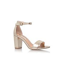 Miss KG - Gold 'Cade' high heel sandal