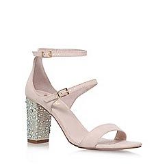 Carvela - Natural 'Geisha' high heel sandals