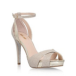 Carvela - Gold 'Gifted' high heel sandals