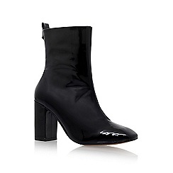 KG Kurt Geiger - Black 'Strut' high heel boot