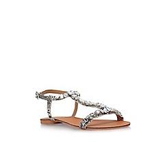 Carvela - Brown 'Blake' low heel sandals