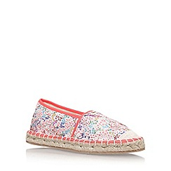 Miss KG - Multicoloured 'Polly' flat espadrille sneakers