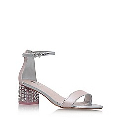 Carvela - Pink 'Groove' mid heel sandals