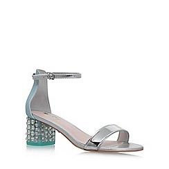 Carvela - Blue 'Groove' mid heel sandals
