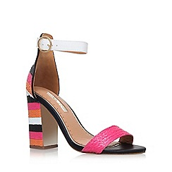 Miss KG - Multicoloured 'Ebony' high heel sandal
