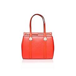 Nine West - Red 'Cutaway Tote LG' tote bag