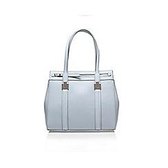 Nine West - Blue 'Cutaway Tote LG' handbag with shoulder strap