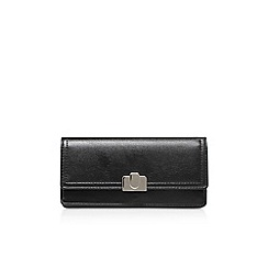 Nine West - Black 'Cutaway Continental' clutch bag