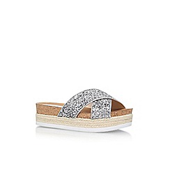 Nine West - Silver 'Amyas3' High Heel Sandals