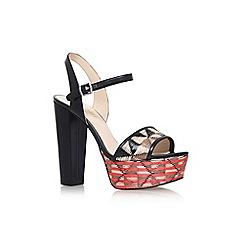 Nine West - Multicoloured 'Carnation' high heel sandal