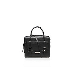 Nine West - Black 'Tipping Point' satchel handbag with shoulder strap