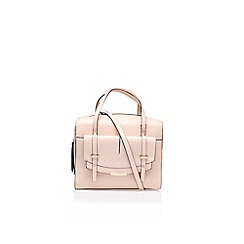 Nine West - Pink 'Tipping pnt satchel' handbag with shoulder strap
