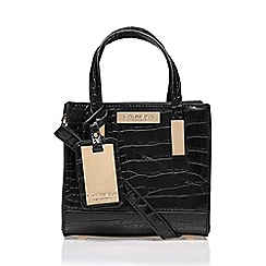 Carvela - Black 'Jules' micro bag handbag with shoulder strap