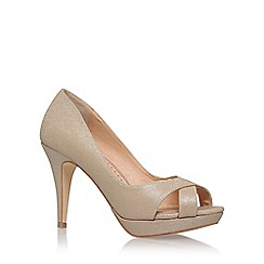 Miss KG - Gold 'Georgina' High Heel Sandals